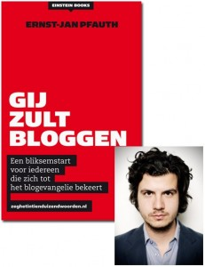 Cover Gij zult bloggen Ernst-Jan Pfauth