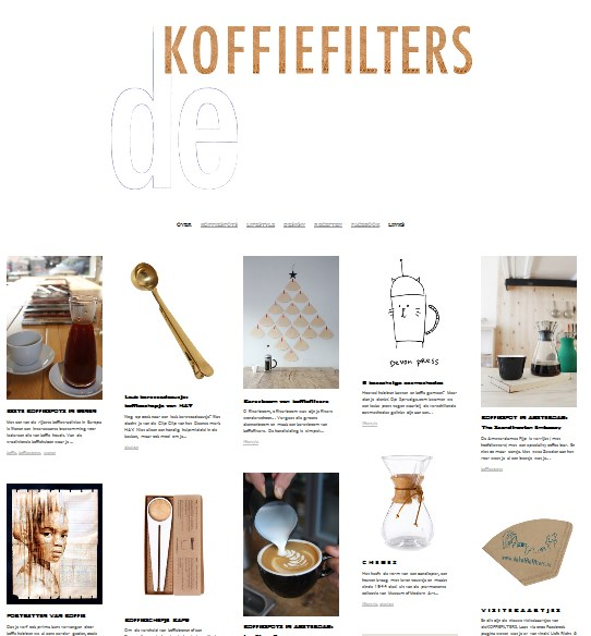 Warm aanbevolen: De koffiefilters.nl