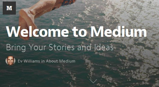 Medium blogplatform