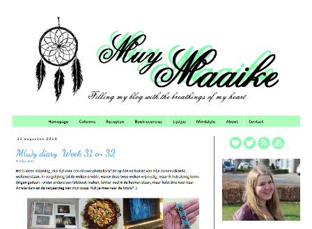 Op de blog af: Muy Maaike