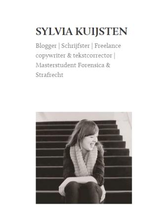 Op de blog af: Sylvia Kuijsten