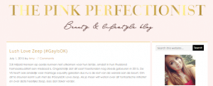 The Pink Perfectionist