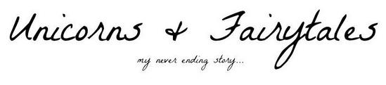 Op de blog af: Unicorns & Fairytales