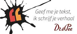 Logo tekstbureau DrsPee.nl Martha Pelkman