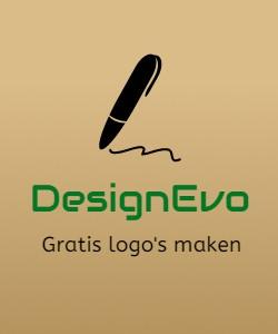 Gratis logo's maken met DesignEvo