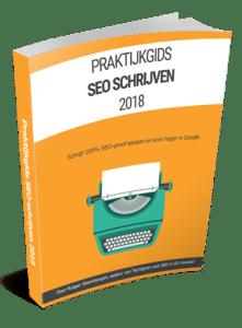 Cover e-book praktijkgids SEO 2018