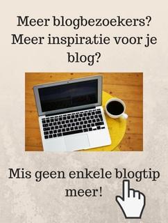 Banner abonnement nieuwsbrief voor de beste blogtips
