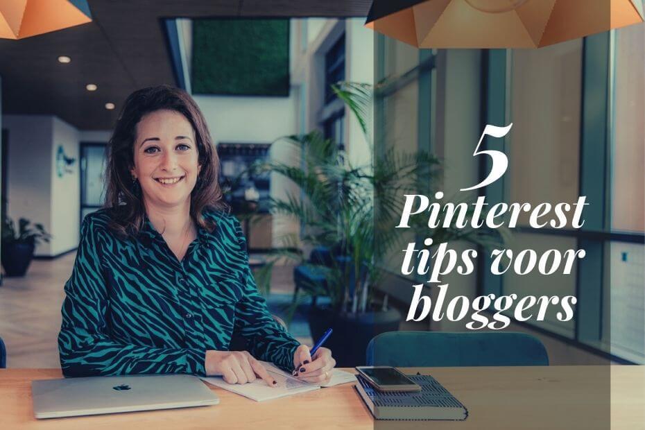 Dionne Knooren geeft Pinterest tips voor bloggers